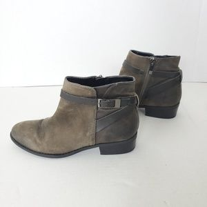 Nordstrom Franco Sarto Leather Casual Boots Brown